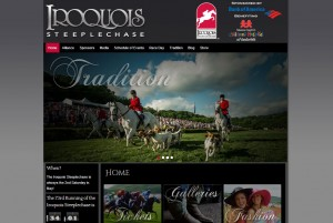 Iroquois Steeplechase Web Design Project